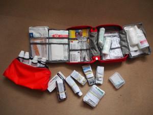 Erste Hilfe und Medikamente