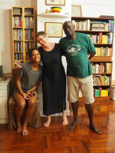 Ulle, Abdu und Nyimma