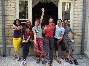 Die Isfahanis: Narges, Nasrin, Majid und Reza