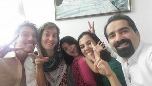 Mohammad, Mahboobeh und Anita